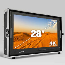 LILLIPUT BM280-4K Broadcast Ultra-HD Monitor with SDI ,HDMI ,DVI,VGA,TALLY +HOOD