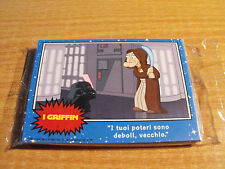 FAMILY GUY 12 CARD PREVIEW SET FOR BLUE HARVEST / STAR WARS, ITALIAN LANGUAGE