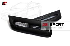 Carbon Fiber Front Air Intake Bonnet V Style Hood Vents for Evolution X EVO 10