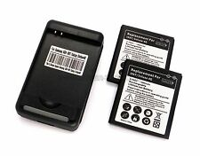 Cybertech 2 x 1800mAh Batteries + USB Charger for Samsung Infuse 4G i997