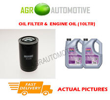 DIESEL OIL FILTER + FS 5W30 OIL FOR LAND ROVER DISCOVERY 2.5 113BHP 1989-98