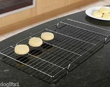 Metal Wire Cake Baking Cooling Tray Trays Racks Rack