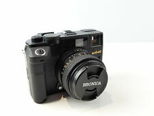 BRONICA RF645 120 FILM MEDIUM FORMAT FILM RANGEFINDER CAMERA 65MM F4 LENS SUPERB