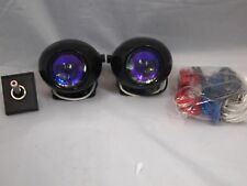JDM UNIVERSAL PROJECTOR H3 55W FOG LIGHTS DRIVING LAMPS HARNESS KIT CAR TRUCK