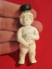 Antique porcelain Frozen Charlie doll Little Squirt Pee Willy Naughty Boy bottle