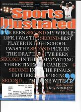 Kevin Durant Sports Illustraded April 29,2013, single.