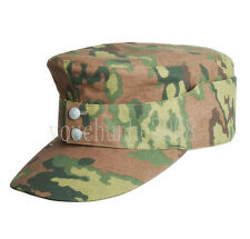 WWII GERMAN OAK LEAF CAMO SPRING CAP HAT SIZE M-33864
