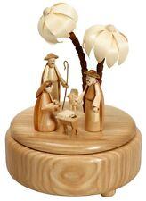 Carillon natura Nascita Di Cristo piccolo 16cm carillon NUOVO carillon Natale