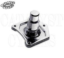 CHROME SOLENOID COVER WITH STARTER BUTTON 91-UP HARLEY SOLENOID COVER