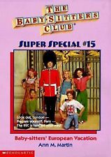Baby-Sitters' European Vacation (Baby-Sitters Club Super Special)-ExLibrary