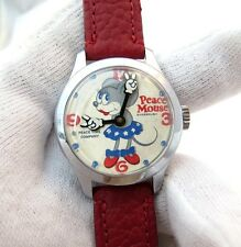 PEACE MOUSE,Sagebrush,Manual Wind,By: Peace Time Co.Ultra Rare!  MEN'S WATCH,856