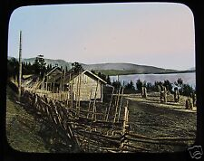 Glass Magic Lantern Slide RANDSFJORD  C1900 NORWAY