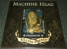 "MACHINE HEAD-KILLERS & KINGS ""STRENGTH""-2014 RSD 10"" EP BLUE VINYL-LTD-NEW"