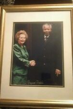 Margaret Thatcher Autograph with COA. Rare -  not many of these on the market.