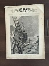 """""""THE GRAPHIC"""" (A Beautifully Illustrated British Weekly Newspaper)-Sep. 6, 1881"""