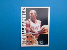 1995-96 Panini NBA Basketball Sticker N. 12 Kevin Gamble Miami Heat