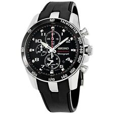 NEW MEN'S SEIKO SPORTURA ALARM CHRONOGRAPH SPORTS WATCH SNAE87P1 / SNAE87