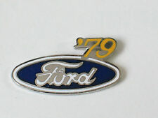1979 Ford Pin Badge Ford Oval Year  Auto Pin