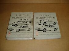 1986 Oldsmobile Delta 88 98 Ninety Eight Cutlass Ciera service shop manual
