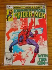 SPIDERMAN SPECTACULAR #71 VOL1 MARVEL COMICS OCTOBER 1982