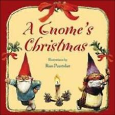 A Gnome's Christmas by Rien Poortvliet and Bruce Goldstone (2004, Hardcover)