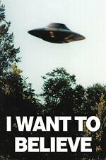 X FILES  Poster - I WANT TO BELIEVE - NEW X FILES CLASSIC POSTER PP33840
