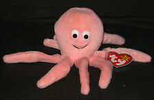 TY INKY the OCTOPUS BEANIE BABY - MINT with NEAR MINT TAG - SEE PICS