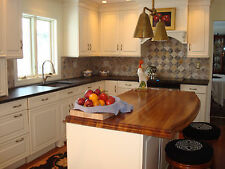20 years in business:  Custom Teak Wood Countertops, any size, shape, finish!
