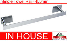 Towel Rail Single 450mm (7703)