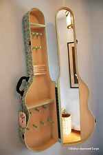 POTTERY BARN TEEN JUNK GYPSY GUITAR JEWELRY HOLDER -NIB- A GREAT CASE FOR CHIC!
