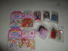 NEW BARBIE DOLLS OF THE WORLD MCDONALDS HAPPY MEAL TOY COMPLETE SET LOT 1995