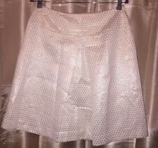 NEW Womens Gymboree Chic Brocade Metallic Pleat Luxe Skirt Size 8 NWT $47