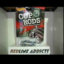 Hot Wheels - 1:64 - El Paso TX Police - 1999 - Mattel COP RODS 67 Camaro