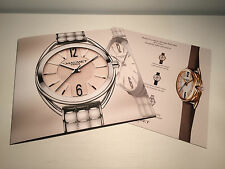 Booklet Folleto CHAUMET Liens Model - English - Watches Relojes - For Collectors