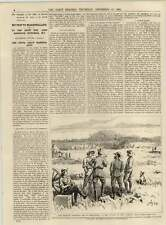 1891 The Outskirts Of Fort Soars Bury Richings Park Bearing Jewel Robbery