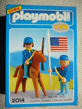 VINTAGE Playmobil  2014 US 7TH ARMY SOLDIERS Geobra Lyra NEW & SEALED!
