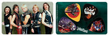 Judas Priest Band Album Covers PikCard Custom Guitar Picks (4 picks per card)