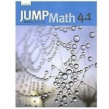Jump Math 4. 1 Bk. 4, Pt. 1 by John Mighton and JUMP Math (2009, Paperback)