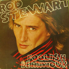 ROD STEWART-FOOLISH BEHAVIOUR LP VINILO 1980 + POSTER (SPAIN) EXCELLENT CONDITIO