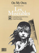 Kretzer On My Own Learn to Play Les Miserables Piano  PVG SHEET Music Book