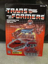 TRANSFORMERS G1 AUTOBOT WARPATH MOSC! US SELLER!
