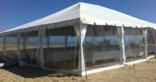 New clear tent sidewalls, Commercial, Party, Tent, pole or frame, George Maser