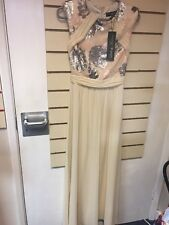 Ladies Little Mistress Prom Dress Long Dress Gown Uk 6 New With Tags