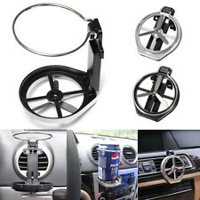 Car Truck Wind Air A/C Outlet Folding Cup Bottle Drink Holder Stand with Fan NEW