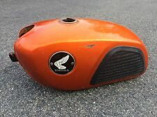 1966-69 Honda CL175 Scrambler CL 175 GAS TANK CANDY TOPAZ ORANGE SLOPER CL160