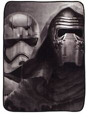 NEW STAR WARS VII AWAKEN KIDS FLEECE BLANKET BOYS THROW DISNEY FORCE AWAKENS
