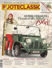DICEMBRE 2008 RUOTECLASSICHE 240 MINI MORRIS MOKE ALFA GT VELOCE 1967 MUNTZ JET