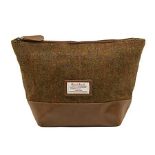The British Bag Company - Stornoway Harris Tweed Wash Bag in Gift Box