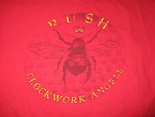 "2012 RUSH ""CLOCKWORK ANGELS"" World Tour Concert (XL) T-Shirt LEE PEART LIFESON"