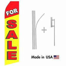 For Sale Econo Flag 16ft Advertising Swooper Flag Kit with Hardware
